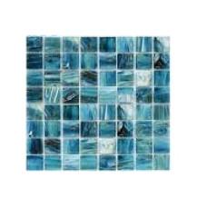 МОЗАИКА MOZAICO DE LUX R-MOS 20GY33 GOLD BLUE / 327х327х4 мм