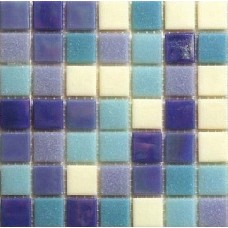 МОЗАИКА STELLA DI MARE R-MOS MC533 BLUE+WHITE MIX / 327x327x4 мм