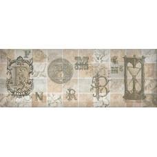 Antica декор серый №4 / 15х40 см