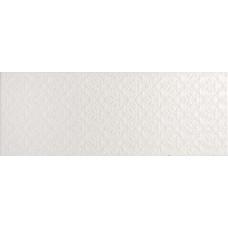 Arabesco стена белая / 23х60 см