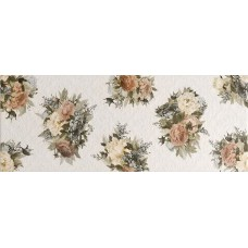 Arabesco стена белая (рисунок) / 23х60 см