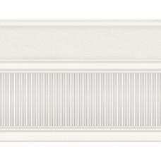 Arte бордюр широкий белый / 17,5х23 см
