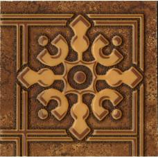 Bari декор коричневый напольный / 10х10 см