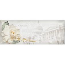 Capitol декор серый / 15х40 см