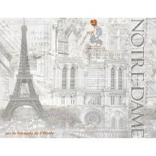 Cementic декор-панно серый / 46х60 см