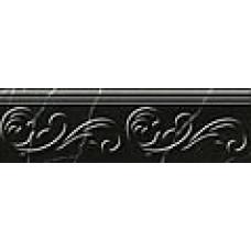 Absolute modern фриз черный / 30х9 см