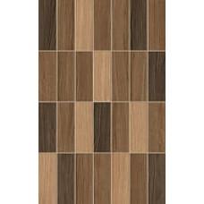 Karelia Mosaic стена коричневая / 25х40 см