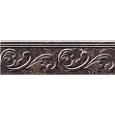 Lorenzo Modern фриз коричневый / 30х9 см