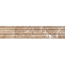 Lorenzo Modern фриз темно бежевый / 30х6 см