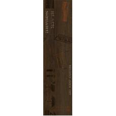 Sherwood декор коричневый (ректификат) / 15х60 см