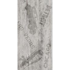 Vesta Detroit декор белый (ректификат) / 30х60 см
