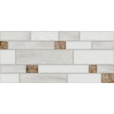 Ideal стена коричневая светлая / 23х50 см