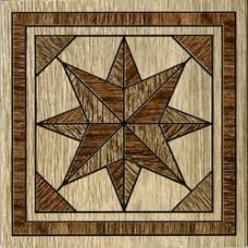 Massima декор напольный коричневый / 15х15 см