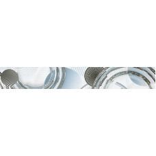 Mare бордюр вертикальный серый / 7х50 см