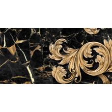 Saint Laurent декор черный / 30х60 см