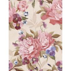 TROYANDA стена бежевая цветы / 25х33 см