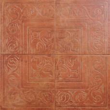 Rosso RAX22 декор из 4-х плиток / 65х65 см