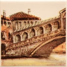 Декор Sity Bridge 1 / 100x100