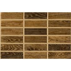 Madera стена коричневая тёмная / 23х35 см