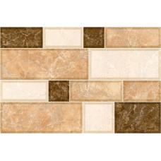 Grani стена коричневая светлая / 23x35 см