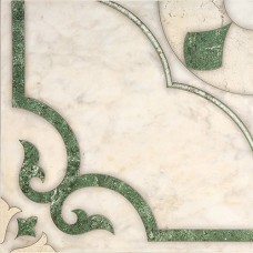 Castello пол зеленый / 43х43 см