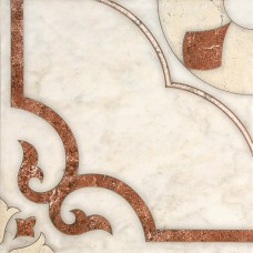 Castello пол красно-коричневый / 43х43 см