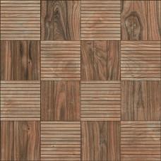 Faggio пол красно-коричневый тёмный / 43х43 см