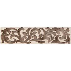 Venge бордюр коричневый широкий / 23х5,5 см