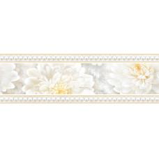 Elegance бордюр широкий серый / 23x9,5 см