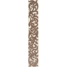 Venge бордюр коричневый вертикальный / 5.4х 35