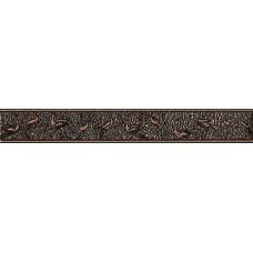 Nobilis бордюр вертикальный коричневый / 7x50 см