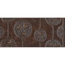 Nobilis декор коричневый тёмный / 23x50 см