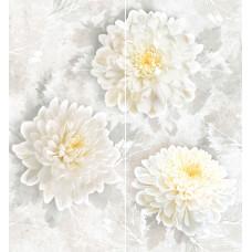 Elegance декор-панно серый / 46x50 см
