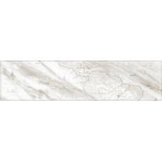 Carrara бордюр напольный серый №1 / 15х60 см