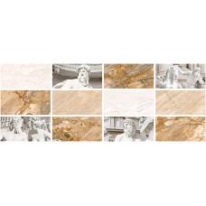 Caesar декор серый светлый №1 / 23х60 см