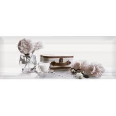 Pergamo декор белый №2 / 15х40 см