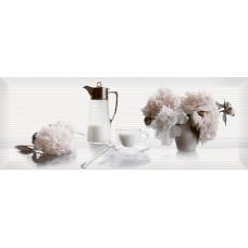 Pergamo декор белый №3 / 15х40 см