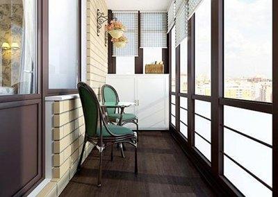 Керамическая плитка для балкона
